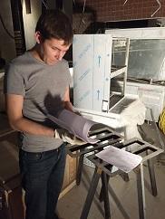 Работа с проектом при монтаже ресторанного оборудования на Объекте в Москве